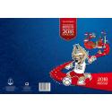 Сувенирный набор ФИФА 2018: Талисман Забивака