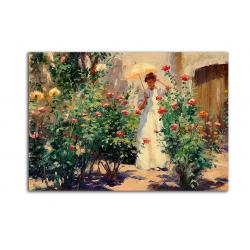 Розы - художник Gregory Harris