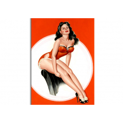 Classic Pin-Up - artwork by Peter Driben